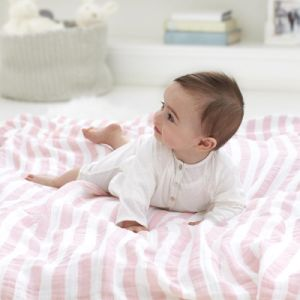 "China Suppliers Baby Swaddle Cotton Muslin Blanket 47""X47"""