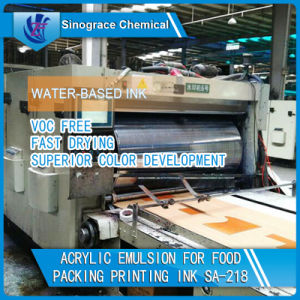 Water Based Acrylic Emulsion for Paper Ink pictures & photos