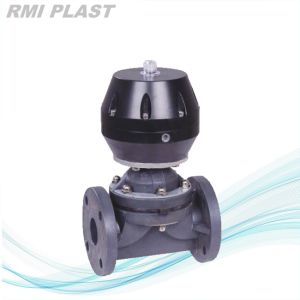 Weir Type PP Plastic Diaphragm Valve by DIN Pn10 pictures & photos