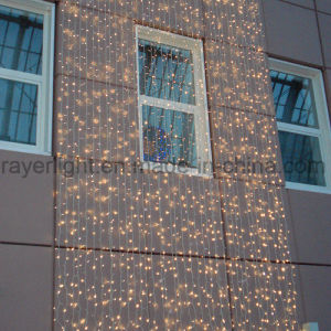 Outdoor LED Festival Decorative Wedding Curtain Lights for Building Wall pictures & photos