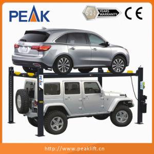 Manual Single-Point Release Device 4 Post Auto Parking Hoist (409-P) pictures & photos