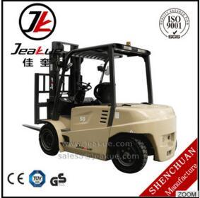 2016 Most Pouplar 5t Electric Forklift Jeakue Fb50 pictures & photos