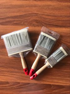 Tapered Filaments Wall Painting Brush with Wooden Handle pictures & photos