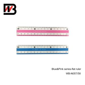 15cm Stationery Plastic Ruler for Office Supply