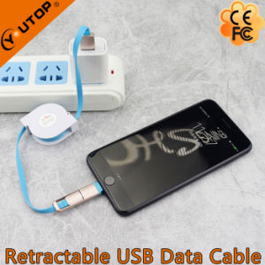 Micro USB Retractable Cable with Fast Speed pictures & photos