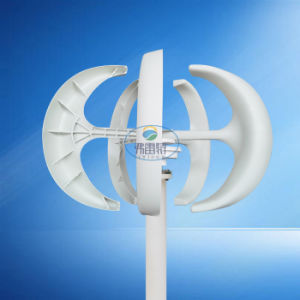 300W Vertical Axies Wind Turbine Generator with Controller pictures & photos