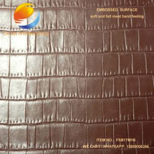 High quality Artificial Leather for Bag Fsb17m1b pictures & photos