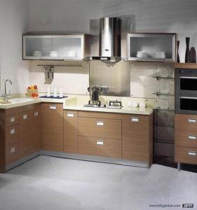 Wood Cupboard Design Modern Kitchen Cabinet pictures & photos