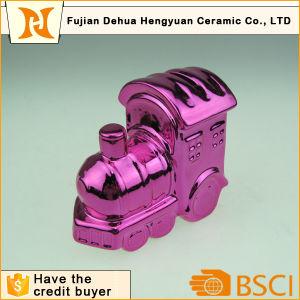 Ceramic Mini Train Piggy Bank for Sale pictures & photos