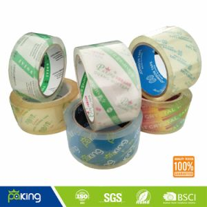 Custom Logo BOPP Crystal Clear Packing Tape pictures & photos