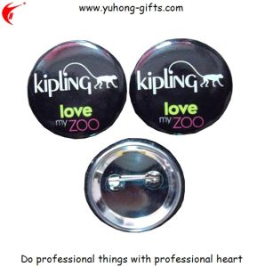 Promotional Personalized Button Tin School Badges (YH-TB010) pictures & photos