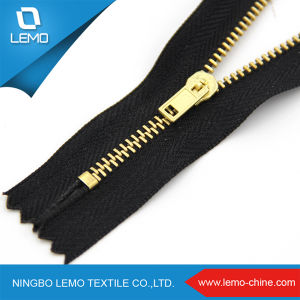 High Polished Various Sizes Exposed Metal Zipper pictures & photos