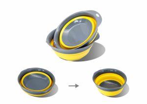 Muti-Color Plastic Foldable Dish Rack Hot Sale Kitchen Dish Drainer pictures & photos