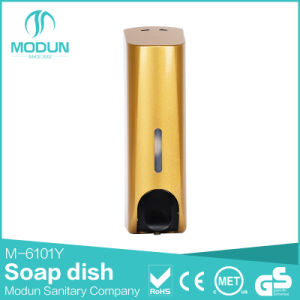 350/350*2/350*3ml Wall Mounted Liquid Soap Dispenser in Golden Color pictures & photos