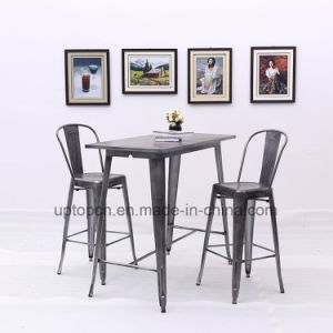Chinese Factory Durable Metal Reataurant Bar Table (SP-BT710) pictures & photos