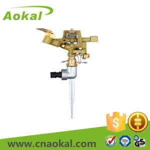 Metal Impulse Sprinkler with Spike Brass Material pictures & photos