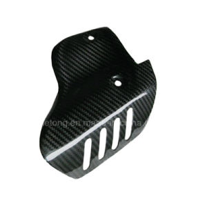 Carbon Fiber Motorcycle Exhaust Heat Guard for Ducati 1198, 1098, 848 pictures & photos