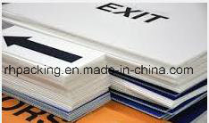 Environmently Polypropylene PP Twin Wall Corrugated Plastic Sheet/Correx Coroplast Corflute Sheet with Printing pictures & photos