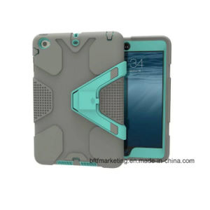 Impact Hybrid Heavy Duty Shockproof Tablet Case for iPad Mini 1/2/3 pictures & photos