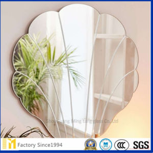 Wall Decorative 5mm Oval Shaped Frameless Bathroom Mirror pictures & photos