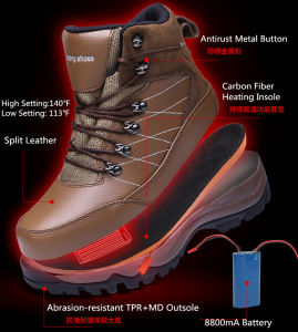 Outdoor Winter Heating Shoes Boots pictures & photos