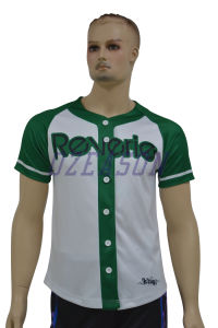 Custom Men′s Dri Fit Plain Baseball Jersey (B001) pictures & photos