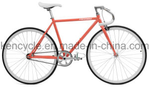 700c Hot Sale Cheap Single Speed Fixed Gear Bike Bicycles Sy-Fx70013 pictures & photos
