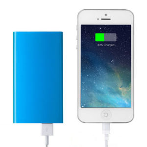 5000mAh Hot Selling Portable Power Bank with Hook Mobile Phone Charger