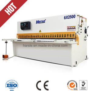 QC12y-6X4000 Shearing Machine/Hydraulic Cutting Machine Price pictures & photos