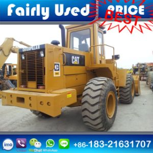 Japan Made Used Cat 966e Shovel Loader with Wood Grab