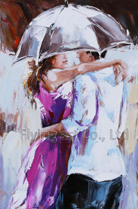 Modern Oil Painting for Hug pictures & photos