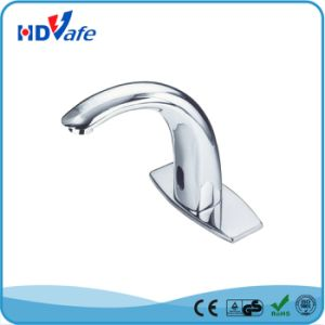 Curve Neck Solid Brass Sensor Faucet for Water Basin pictures & photos