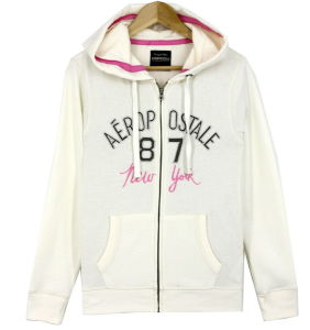 Ss17 Women Zip Through Fashion Fleece Hoodies Sweatshirts Top Clothes pictures & photos