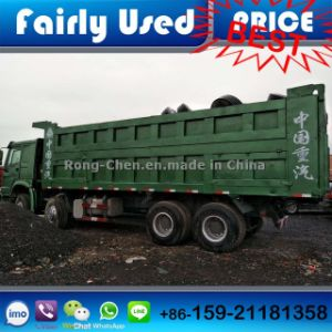 Used Green Sinotruck HOWO Dump Truck 8*4 pictures & photos
