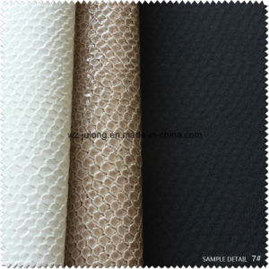Fish Scales Texture Fashion Leather for Shoe (S312100GH) pictures & photos