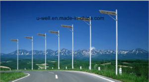 Outdoor Solar Powered Lamp Light Street LED Light for Night Lighting pictures & photos