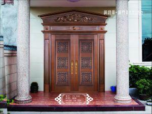 Coppman Front Door Design Handmade Security Copper Door pictures & photos