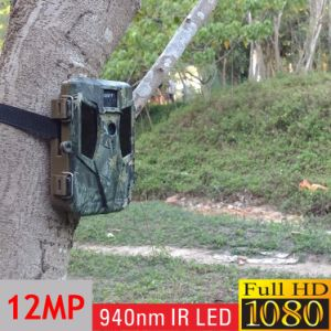 940nm Motion Triggered Game Stealth CMOS Trail Hunting Camera with Optional Extenal Solar Panel