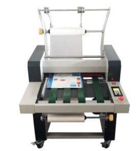 Double Side Steel Roller Laminating Machine HS490 pictures & photos