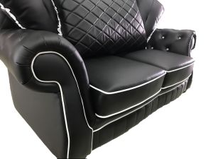 Office Furniture Leisure Modern Leather Sofa Set pictures & photos