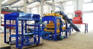 Qt5-15 Paver Brick Making Machine Concrete Block Forming Machine pictures & photos