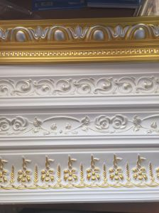 PU Foam Decoration Material for Interior Trim, PU Cornice Mouldings pictures & photos
