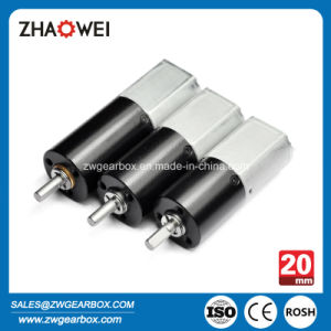 20mm 12V Low Noise Low Rpm Small DC Gear Motor pictures & photos