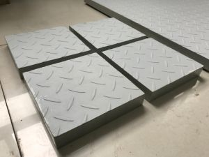 FRP Molded Grating with Patterned Cover/Trench Cover/Gully Cover pictures & photos