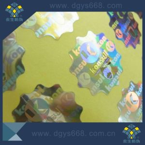 Flower Edge Laser Sticker pictures & photos