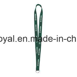 Sewn Screen Print Polyester Lanyard with Custom Design pictures & photos