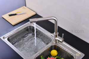 New Nickle Brushed Drinking Water Kitchen Tap pictures & photos