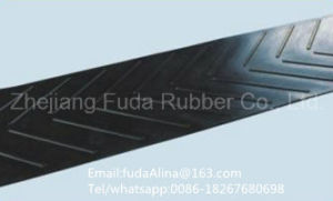 Ep/Nylon Chevron Rubber Conveyor Belt/ Transmission Rubber Conveyor Belt pictures & photos