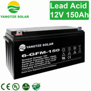 Cheap 12V 150ah Lead Acid Solar Power Batteries pictures & photos