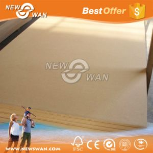 E2 Grade Well Sanded 17mm Plain Raw MDF pictures & photos